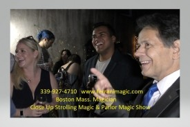 The Magic of Joe Ferranti - Close-up Magician Boston, Massachusetts
