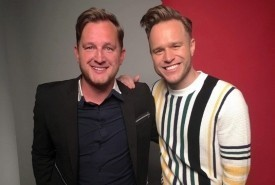 Stuart Fletcher as Olly Murs - Olly Murs Tribute Act