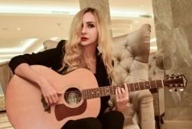 Elena singing guitarist  - Guitar Singer Odessa, Ukraine