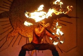 ZOR the FireBender - Fire Performer Palm Springs, California