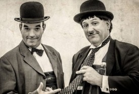 Laurel & Hardy Lookalikes with magic - Lookalike