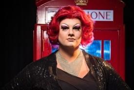 Miss Sasha Blaze - Drag Queen Act Kilmarnock, Scotland