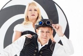 Comedy hypnotists Misty &The Sandman - Cabaret Magician San Mateo, California