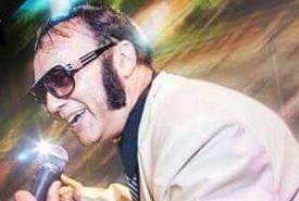 Elvis Fandango show - Jazz Singer Caerphilly, Wales