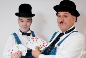 Laurel & Hardy Lookalikes Magicians - Lookalike Liverpool, North of England