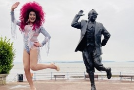 The Dreams' International Drag Queen Duo - Kay Wye & Ida Slapter - Drag Queen Act Doncaster, Yorkshire and the Humber