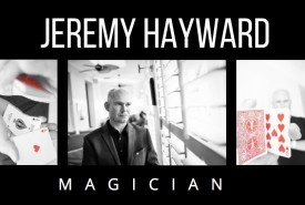 Jeremy Hayward - Close-up Magician Bognor Regis, South East