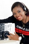 Female dj frizzie