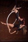 Custom Aerial Hoop Duo Act