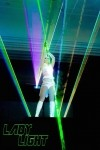 Lady Light Lasergirl - Laser Act