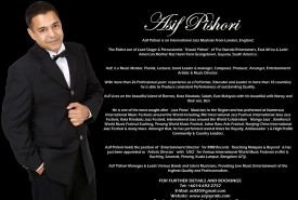 ASIF PISHORI - Pianist / Keyboardist Kota Kinabalu Sabah East Malaysia, Malaysia