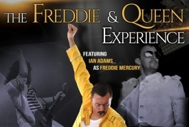 Ian Adams as Freddie Mercury - Freddie Mercury Tribute Act Chorley, North of England