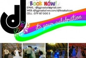 DJ FIGGI (SOUTH AFRICA) - Wedding DJ Vanderbijlpark, Gauteng