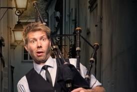The Danish Bagpipe Comedian - Bagpiper Copenhagen, Denmark