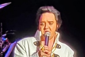 Elvis tribute act  - Elvis Impersonator Sallis, Mississippi