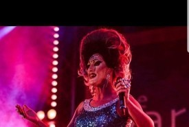 Tanya minge - Drag Queen Act Derby, East Midlands