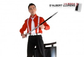 Albert Llorens - Stage Illusionist Spain, Spain