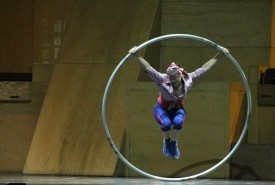 Lisa Eckert - Aerialist / Acrobat Montreal, Quebec