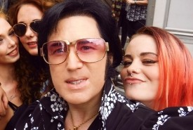 Jasper as ELVIS #8 MILLION Views on YOUTUBE# - Elvis Impersonator London