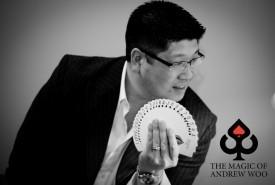 The Magic of Andrew Woo - Comedy Cabaret Magician Brampton, Ontario