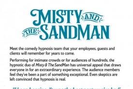 Comedy hypnotists Misty &The Sandman - Tarot Card Reader San Mateo, California