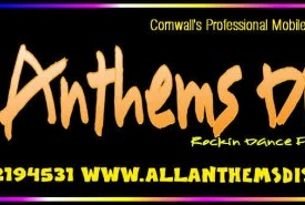 All Anthems Disco and Karaoke Cornwall - Wedding DJ