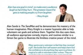 Comedy hypnotists Misty &The Sandman - Other Comedy Act San Mateo, California