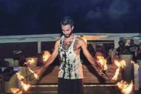 Justin  - Fire Performer