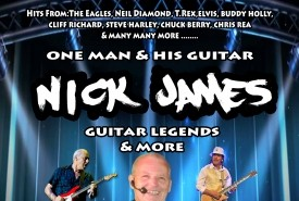 Nick James - Guitar Singer Cambridgeshire, East of England