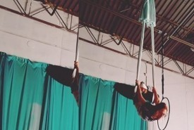 Bathsheba Smith - Aerialist / Acrobat Columbus, Ohio
