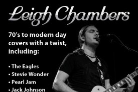 Leigh Chambers  - Acoustic Guitarist / Vocalist
