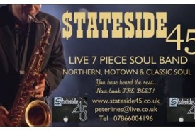 Souled out duo....stateside 45 soul band - Cover Band Doncaster, North of England