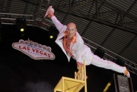 Chairs balancing act - Circus Performer Las Vegas, Nevada