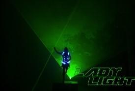 Lady Light Lasergirl - Laser Act - LED Entertainment Las Vegas, Nevada