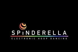 Spindarella LED high reflective show - Hula Hoop Performer Upper Clapton, London