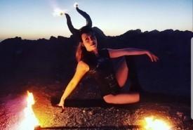 Bethany Vibert - Fire Performer