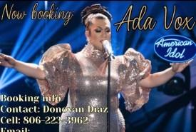 Ada Vox American Idol Finalist - Female Singer