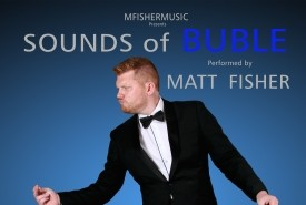 Matt Fisher as Michael Buble - Michael Buble Tribute Act Rochester, South East