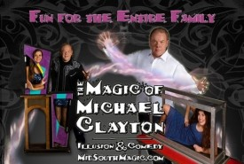 Michael Clayton - Stage Illusionist Memphis, Tennessee