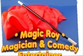 roy stone the nut n bolt comedy magician - Close-up Magician Derby, Midlands