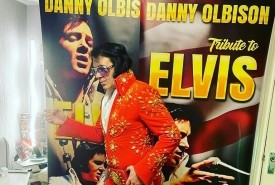 Danny olbison a tribute to elvis  - Elvis Impersonator Barnsley, Yorkshire and the Humber