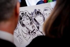 Sassy Steve - Caricaturist South Kensington, London