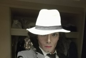 Michael Jackson makeup and dancing - Michael Jackson Tribute Act Egypt