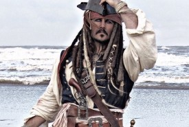 Captain Jack Sparrow & Pirates - Jack Sparrow Lookalike