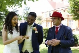 Red Hat Magic - Wedding Magician Guildford, South East