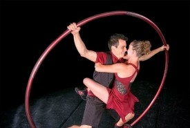 The Engagement Ring Show - Cyr Wheel Act