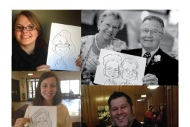 60 Second Speed Sketchers Caricatures by Adam Pate, the fastest caricature artist in the world - Caricaturist