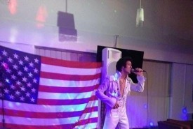 Omar Hussein - Elvis Impersonator Merseyside, North of England