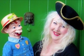 Miss Merlynda & Her Cheeky Puppet Friends! Ventriloquist & Puppeteer For Children's Events - AND - Merlynda Marlene - Cabaret Comedy Ventriloquist & Singing Ventriloquist For Adult Occasions - Ventriloquist Bideford, South West