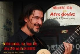 Alex Gordez - Classical / Spanish Guitarist USA, North Carolina